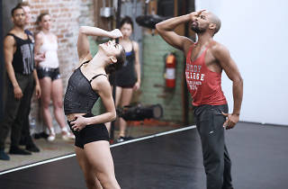 BalletX's Francesca Forcella and Gary W. Jeter rehearse Darrell Grand Moultrie's 'Vivir'