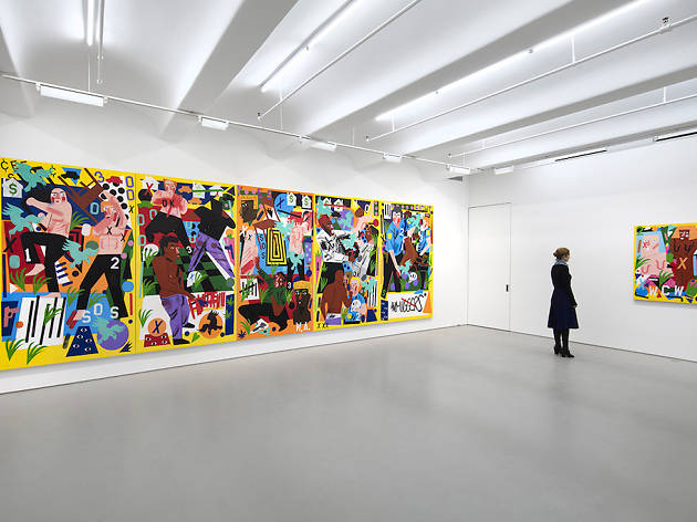 Best Chelsea art galleries in NYC exhibiting contemporary artists on