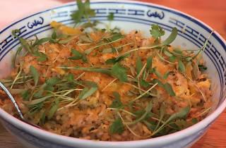 Egg fried rice at Palmar