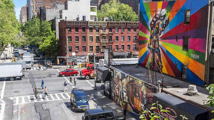 Chelsea, NYC street scene