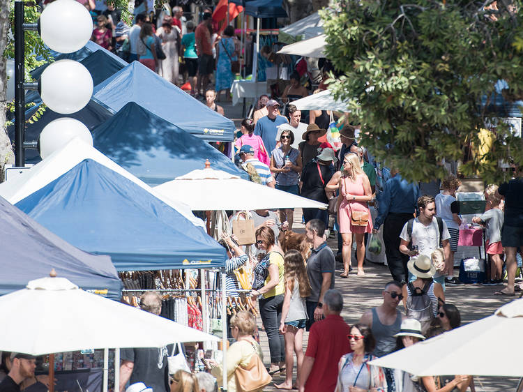 Explore the Manly Markets