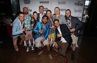 People having a good time at Time Out Bar Awards 2018