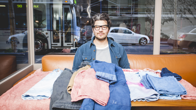 Chef Josef Centeno has a secret clothing line