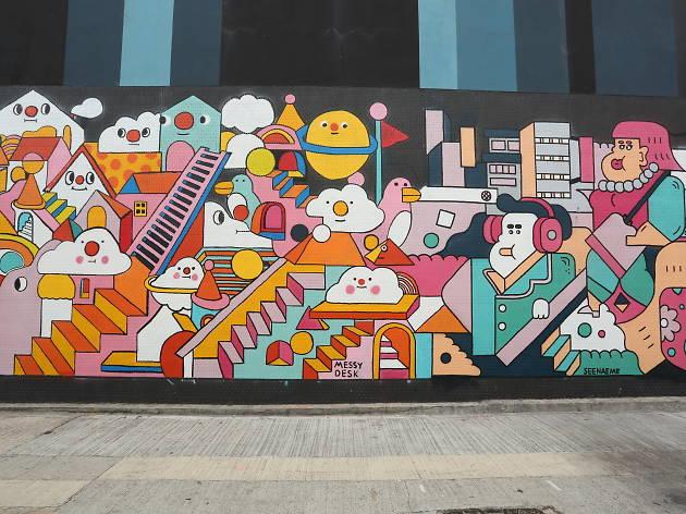 香港最佳街頭塗鴉藝術