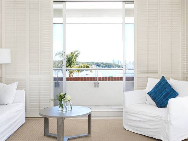 Inside room at Watsons Bay Hotel