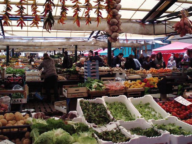 Mercato di Rialto, Venice, market