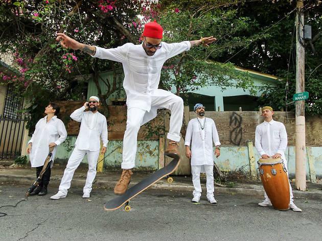 ÌFÉ en el Carnaval de Bahidorá