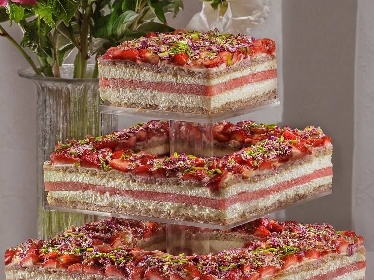 Try Black Star Pastry's strawberry watermelon cake