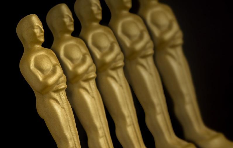 Estatuilla del Oscar con oro y chocolate de Qué Bo!