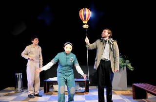El globo flotando (Foto: Cortesía de la producción)