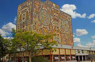 La biblioteca central de Ciudad Universitaria