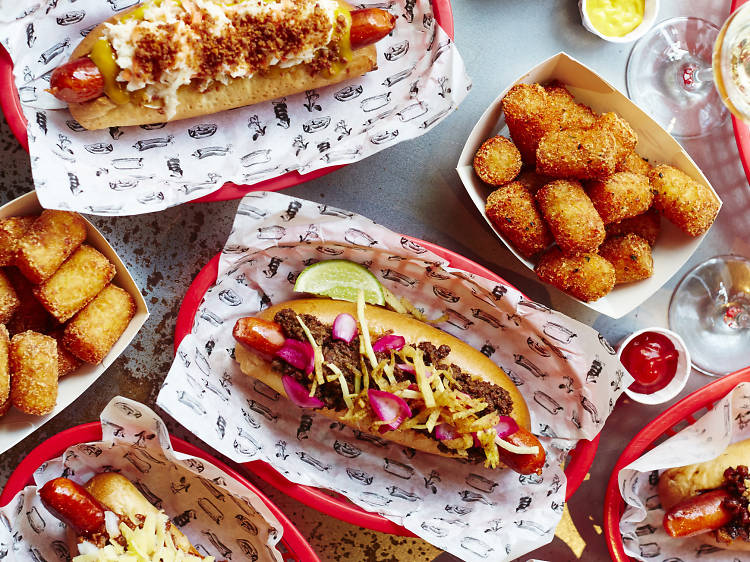 Eat everything at Bubbledogs