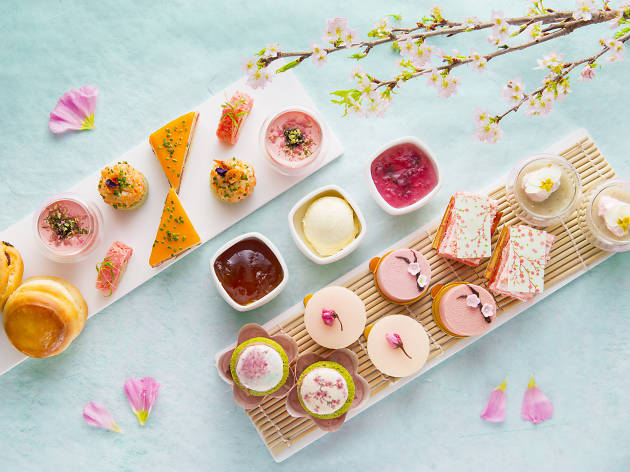 InterContinental Cherry Blossom Afternoon Tea