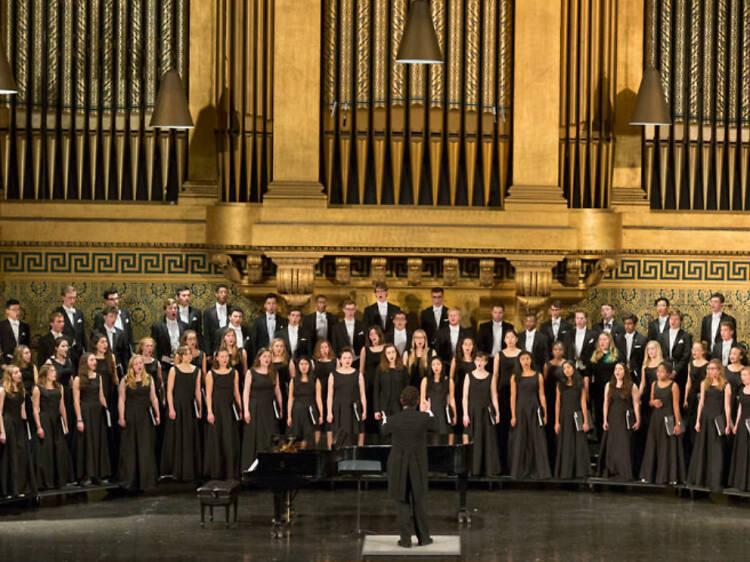 El Gran Coro de la Universidad de Yale, Glee Club
