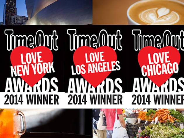 Time Out Launches first-ever Love Awards 2014 in New York, Chicago and Los Angeles