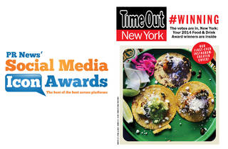 Time Out New York Nominated for PR News' Social Media Icon Awards 2015