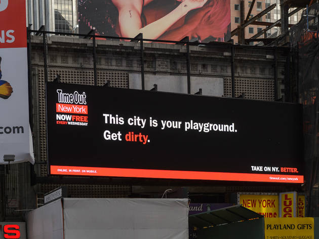 Time Out New York Ad Campaign Takes On the City