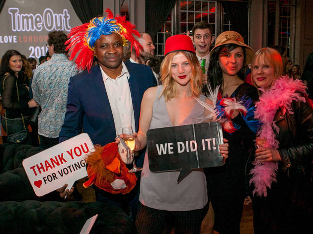 Time Out Love London Awards 2015: The Big Reveal