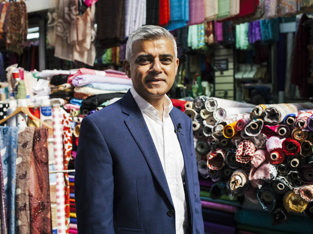New Mayor of London Sadiq Khan names Tooting Arts Club and Battersea Park among his favourite locals as Time Out launches Love London Awards 2016