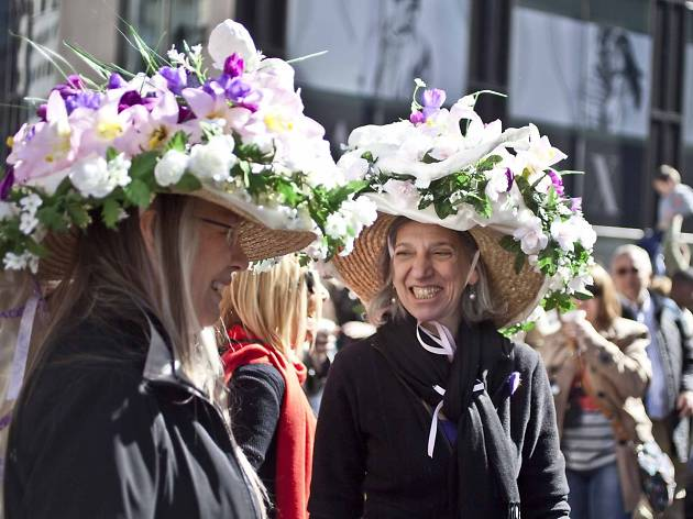 Easter in nyc guide including easter events and brunch deals celebrate easter in nyc with springtime events including the easter bonnet parade flower shows and tasty brunch deals negle Image collections