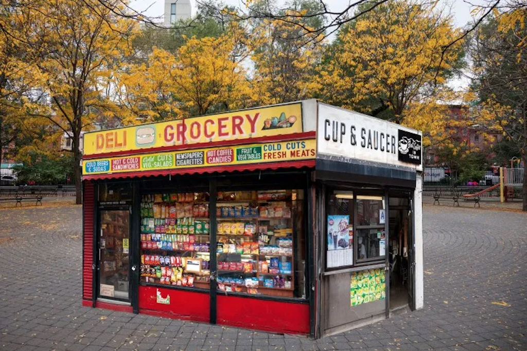 This LES bodega is actually an art installation