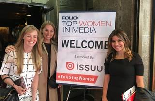 Three Time Out editors honored as Rising Stars at the Folio: Top Women in Media Awards