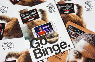 Take Time Out to Go Binge: Time Out London delivers UK's first freesheet video-in-print ads  as part of a multi-platform campaign for Three