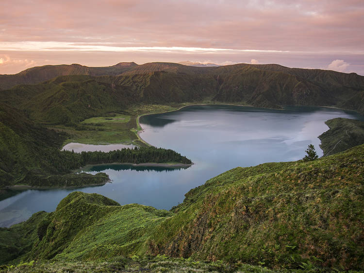 Get your head in the clouds in Lagoa do Fogo