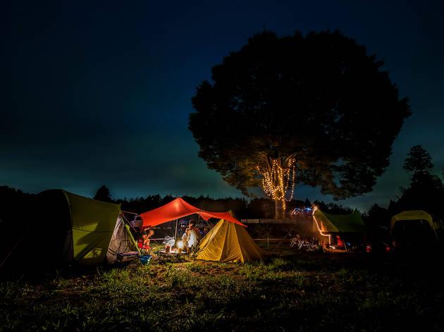 キャンプは身軽に楽しむ。