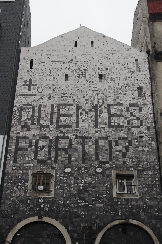 Mural - Quem és Porto?
