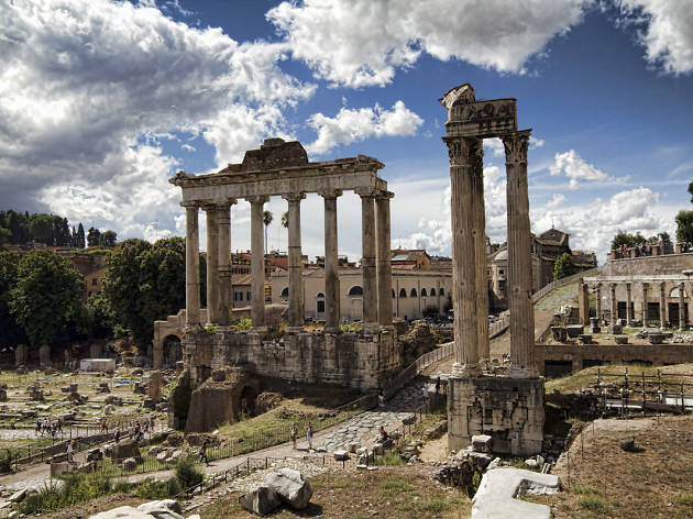 Foro Romano and Palatino