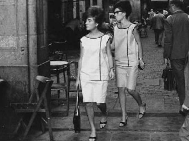 Xavier Miserachs. Plaça Reial, Barcelona, 1962