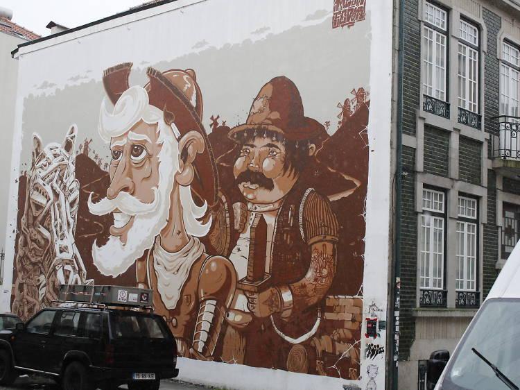 D. Quixote & Sancho Panço