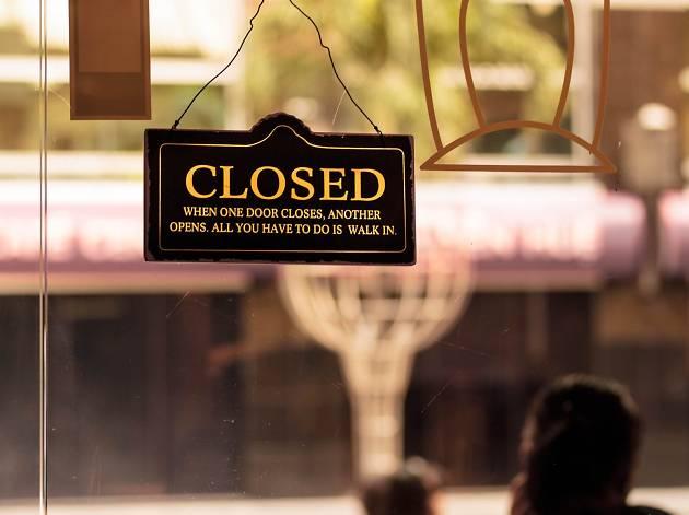 Note museum closures