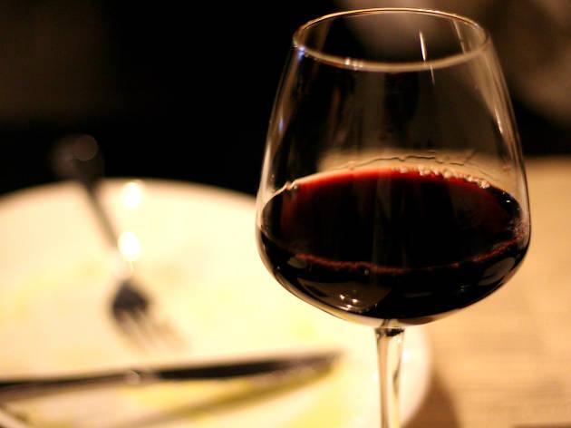 Order house wine