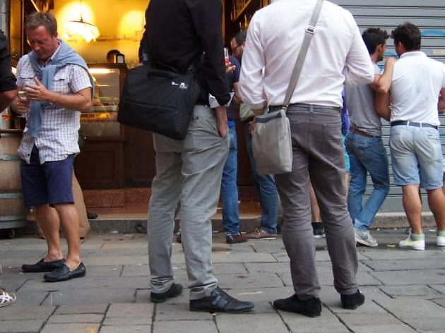 Al Mercà bar, Venice