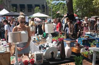 People at Surry Hills Market