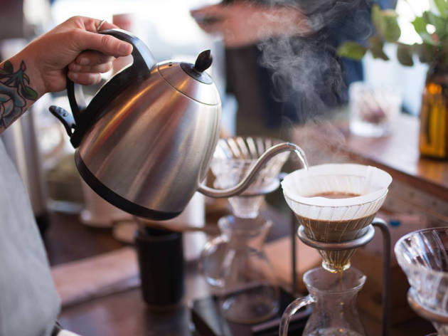 Artspan Reception at Ritual Coffee