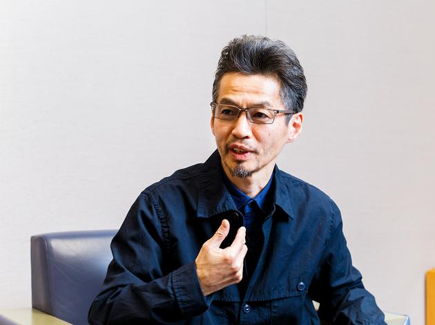 石井岳龍(Photo:Keisuke Tanigawa)
