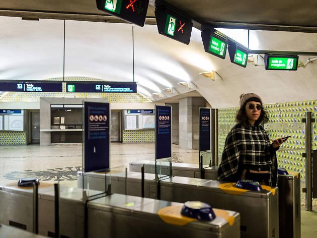 metro de lisboa, metropolitano