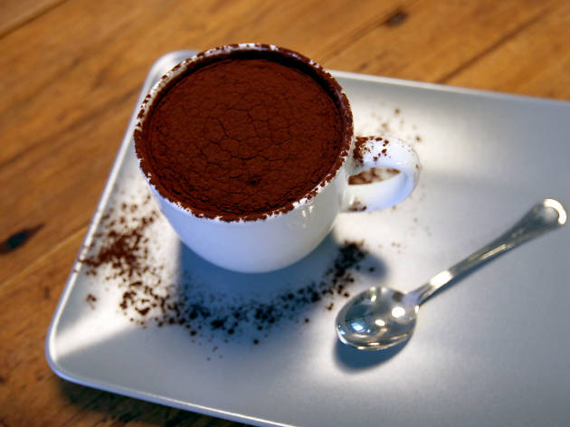 Chocolate quente Landeau