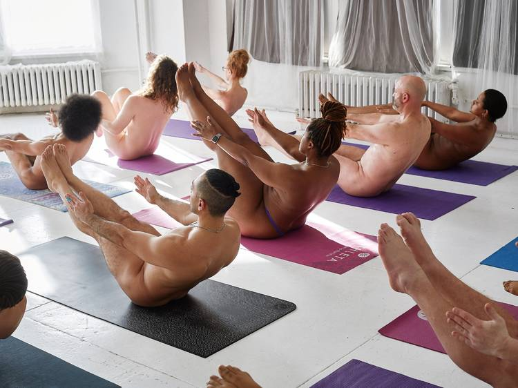 Naked! Yoga at Naked in Motion