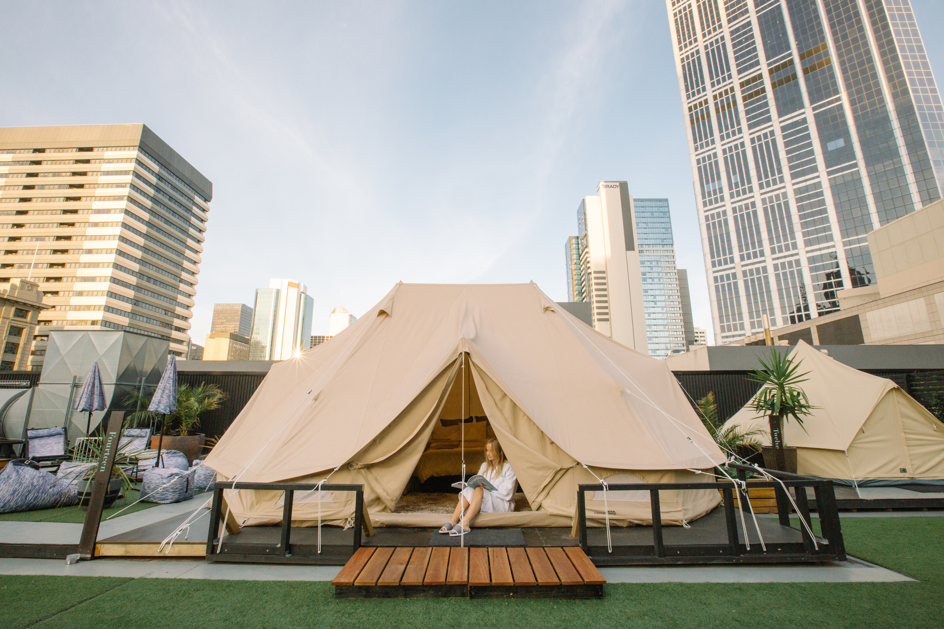 Win an all-inclusive rooftop camping experience at St. Jerome's - The Hotel