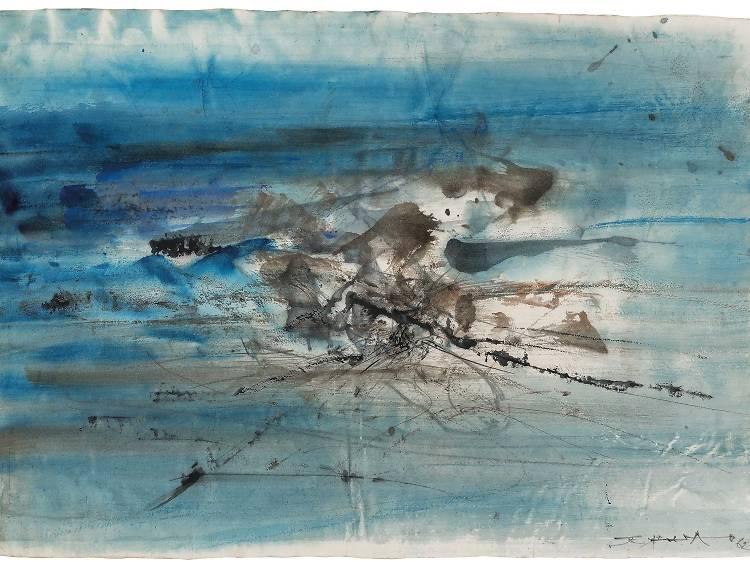 Zao Wou-Ki, Untitled, 1962