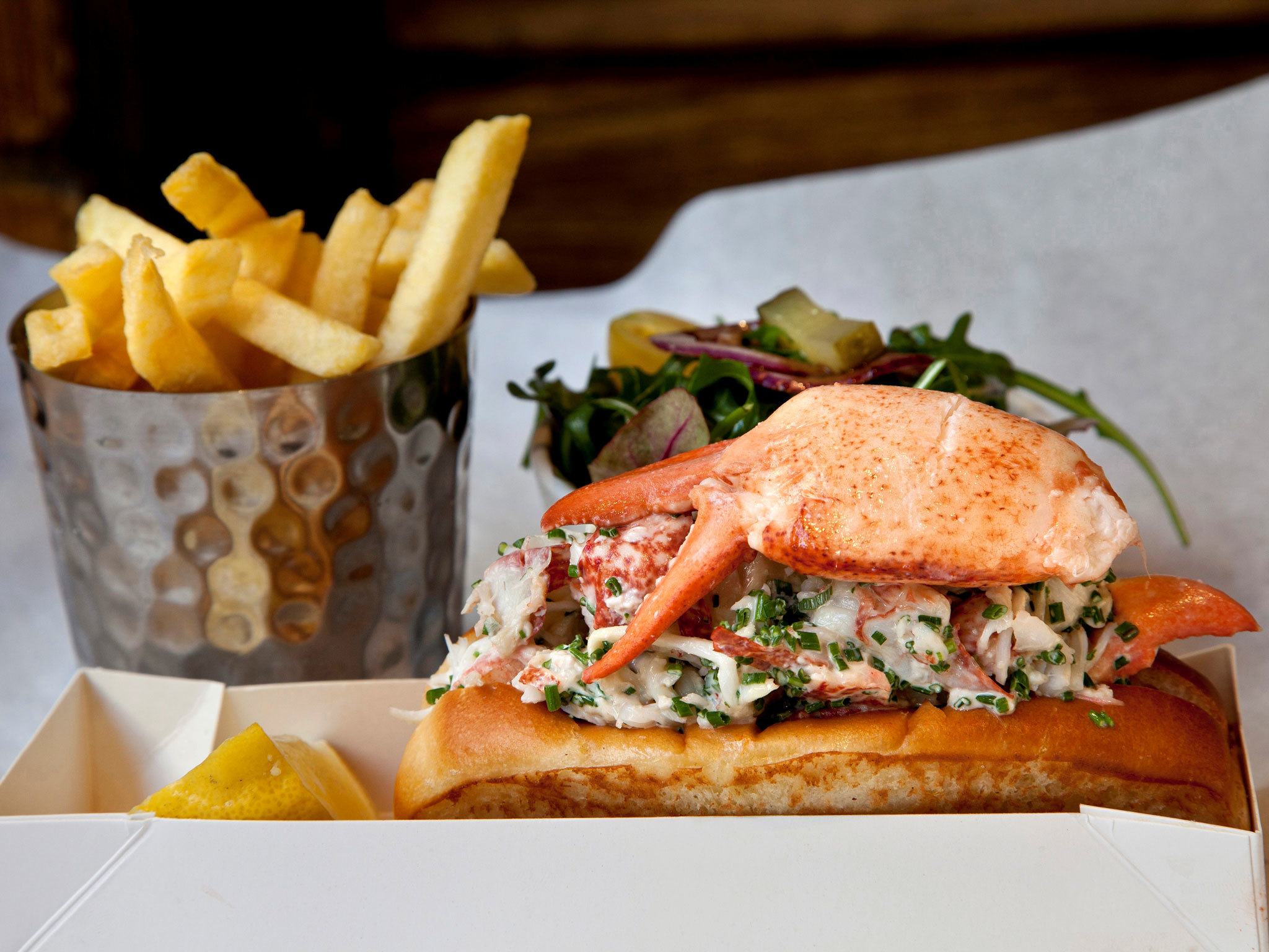 Lobster Roll, Burger and Lobster