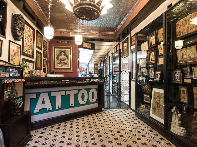 8 awesome tattoo shops in nyc for every style for Tattoo shops in london