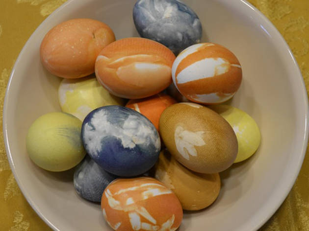 Evening Cocktail & Craft: Natural Easter Egg Dyeing