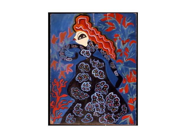 """Baya: Woman of Algiers"""