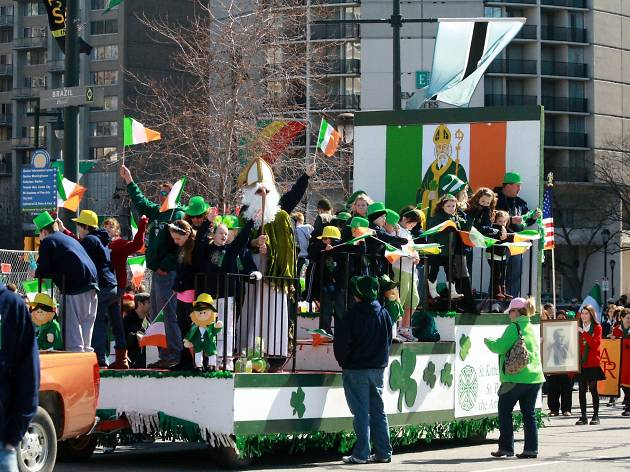 The St. Patrick's Day Parade has been going on in Philadelphia since the 1700s.