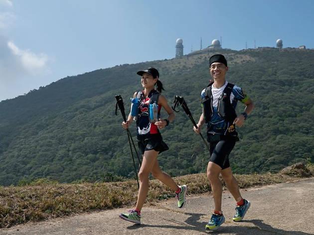 Hong Kong trail running. Credit: Lloyd Belcher Visuals